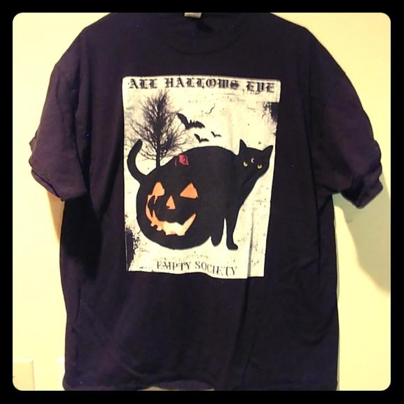 971791674 Gildan Shirts | Empty Society All Hallows Eve T | Poshmark